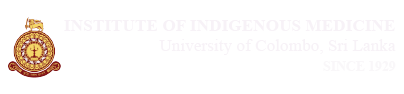 Departments Ayurveda | Institute of Indigenous Medicine