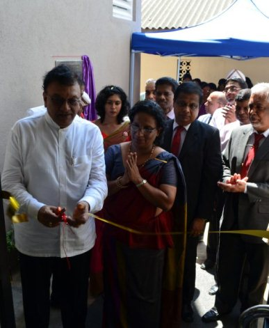 Opening of the Moragasmulla New Girls Hostel of the Institute of Indigenous Medicine, University of Colombo
