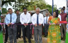 Opening of the Renovated Playground of IIM