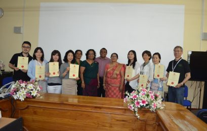 WORKSHOP ON AYURWEDA AND TRADITIONAL MEDICINE FOR A HEALTHY LIVING