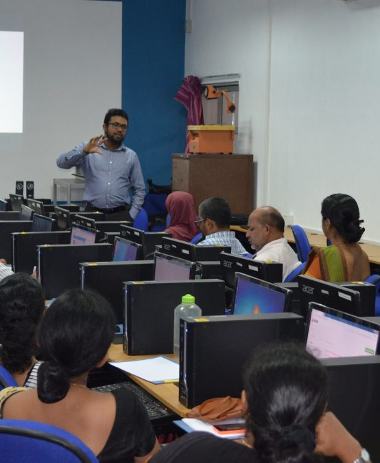 Workshop on Blended Learning for Academic Staff of the IIM