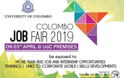 Colombo JOB FAIR 2019