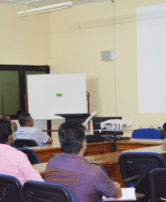 """Pre """"review Visit"""" Progress Meeting of IQA Cell"""