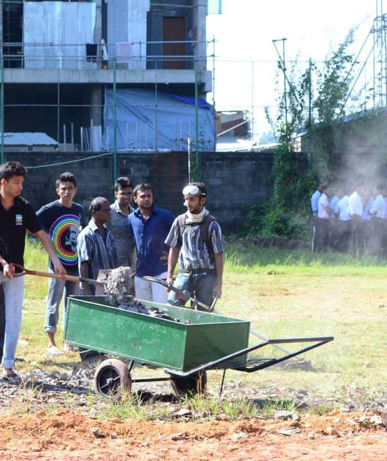 Cleaning Project to Save the Playground of IIM 2013