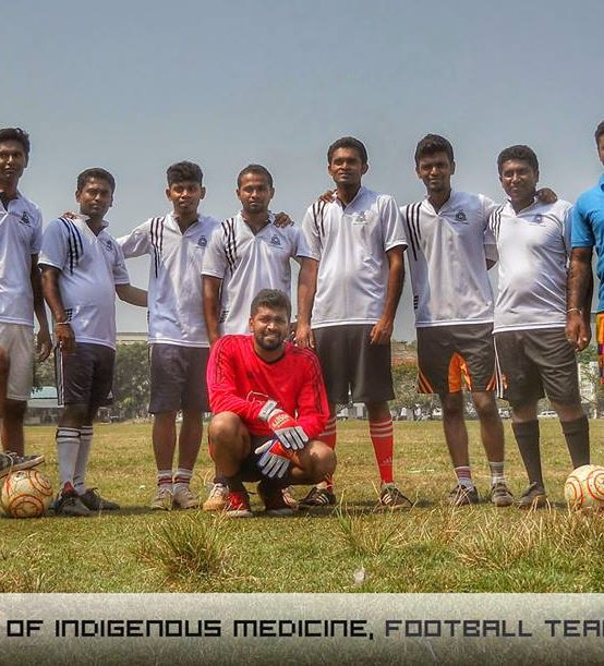 Institute of Indigenous Medicine, Football Term, 2015