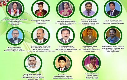"""International Webinar on """"Strength of Ayurveda, Unani and Traditional Medicine in COVID -19 Management"""""""