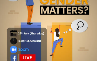Why Gender Matters – An awareness session for students